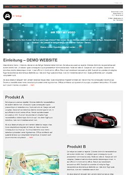 Muster Webseite Nr. 01